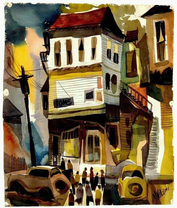Bob Wilvers West Allis, Milwaukee, 1950