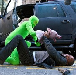 """Will Smith Filming """"I Am Legend"""""""