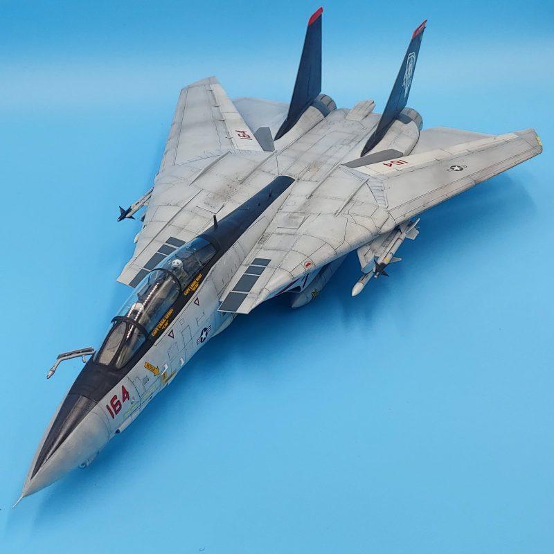 Amazing 1/48 scale F-14 Tomcat