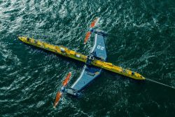 Orbital's O2 floating tidal power platform is rated at 2 MW, and it's designed to ha ...