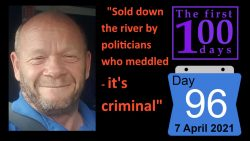 """Sold down the river by politicians"" 100 days of Brexit and it just gets worse… ..."