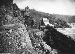 Among the snaps are shots of Botallack Mine near St Just (pictured), which appears in the recent ...