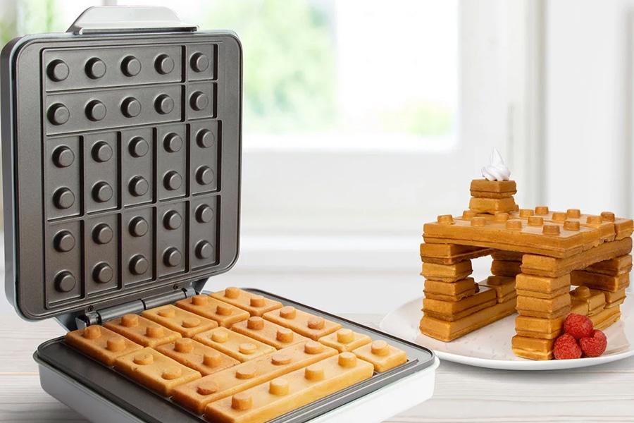 Breakfast waffle fun
