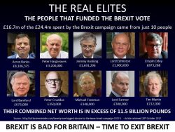 Those who made you want Brexit