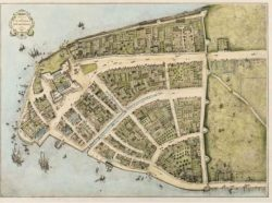 To keep the bad hombres out, the Dutch residents of New Amsterdam constructed a 12′ wall i ...