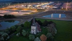 Brexit lorry park 'ruins night sky' for Kent residents