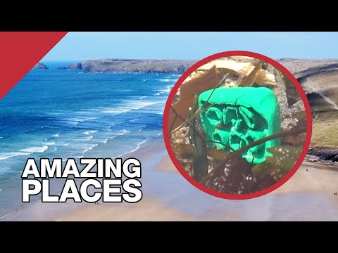 The Beach Where Lego Keeps Washing Up – YouTube