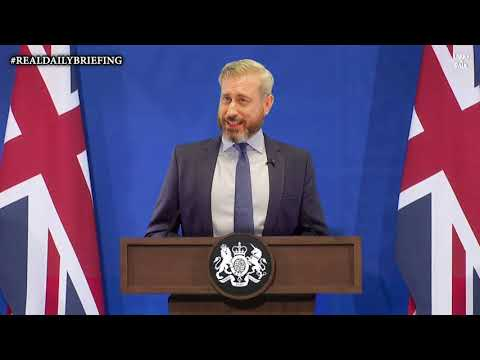 The UK Government #RealDailyBriefing [5th May 2021] – Larry and Paul – YouTube