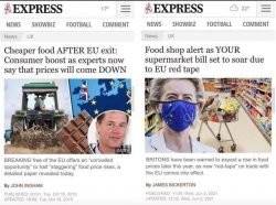 Daily Express furious that it believed the Daily Express
