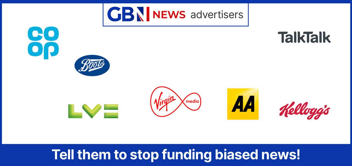 Boycott GB News   Advertisers