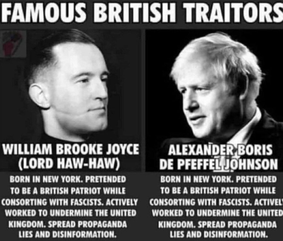 Very British traitors