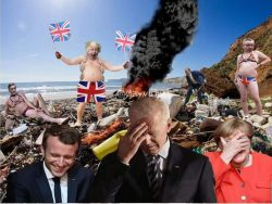G7 and Johnsons travesty of a government summed up