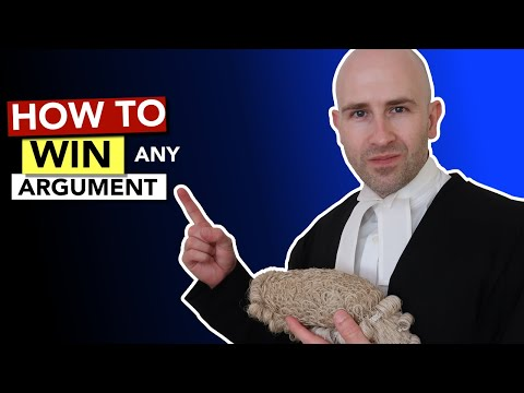 How to Win ANY Argument like a Barrister! – YouTube