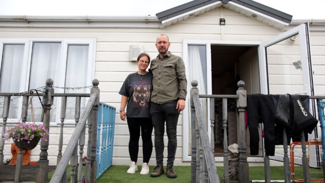 Santander mortgage problems forced us to swap our dream home for a caravan