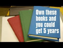Man gets 5 years for having 3 lawful books and THE WRONG VIEWS – YouTube
