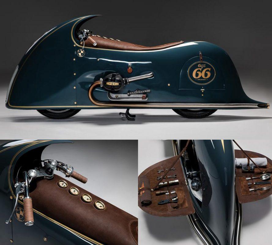 The Good Ghost custom built by Kingston Custom for Haas Moto Museum in Dallas, Texas.