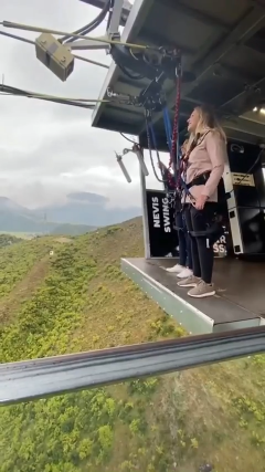 Nevis Swing in New Zealand