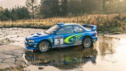 Richard Burns' Subaru Impreza 2000 WRC car sells for $865,000