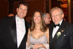 This is Larry Silverstein, World Trade Center owner with his son Roger and daughter Lisa. The th ...