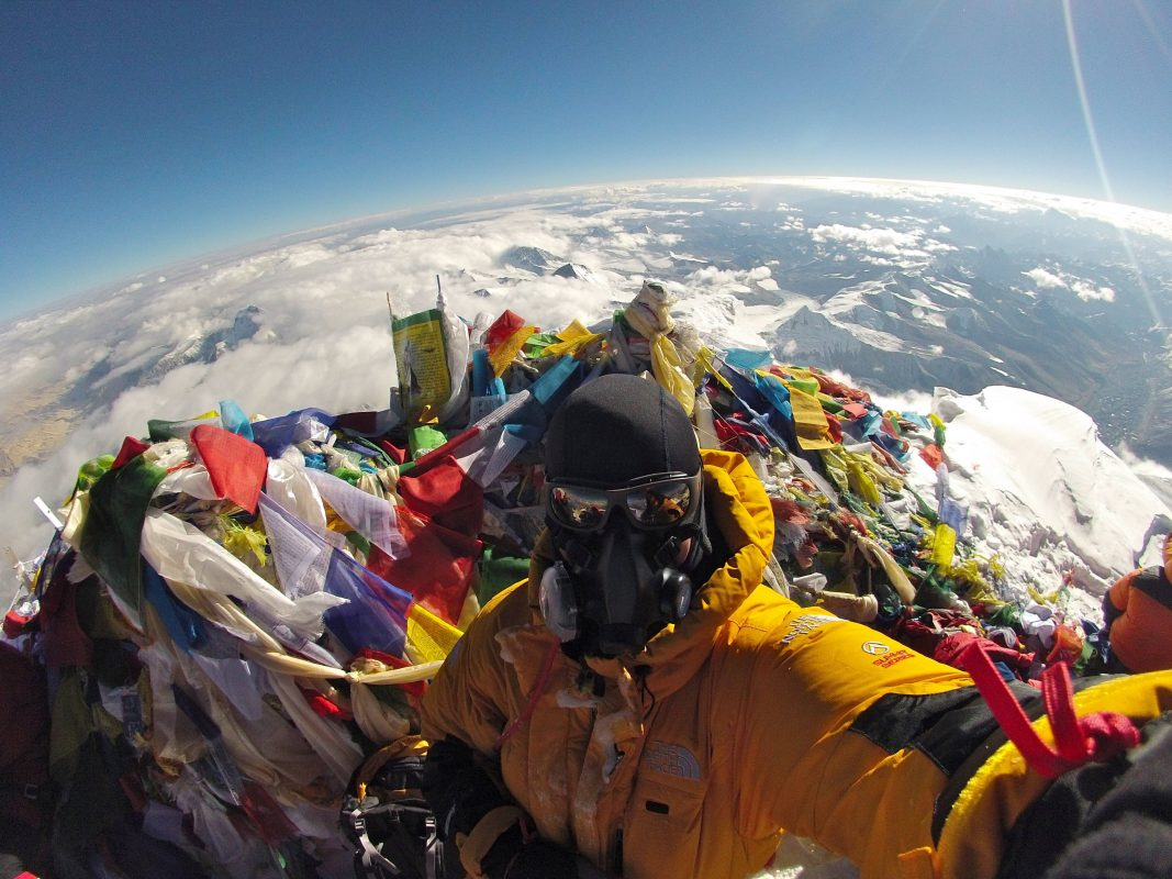 What The Top Of Everest Looks Like