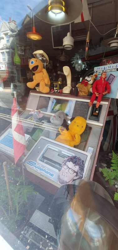Look at me and tell me honestly this isn't the best shop window you've ever seen