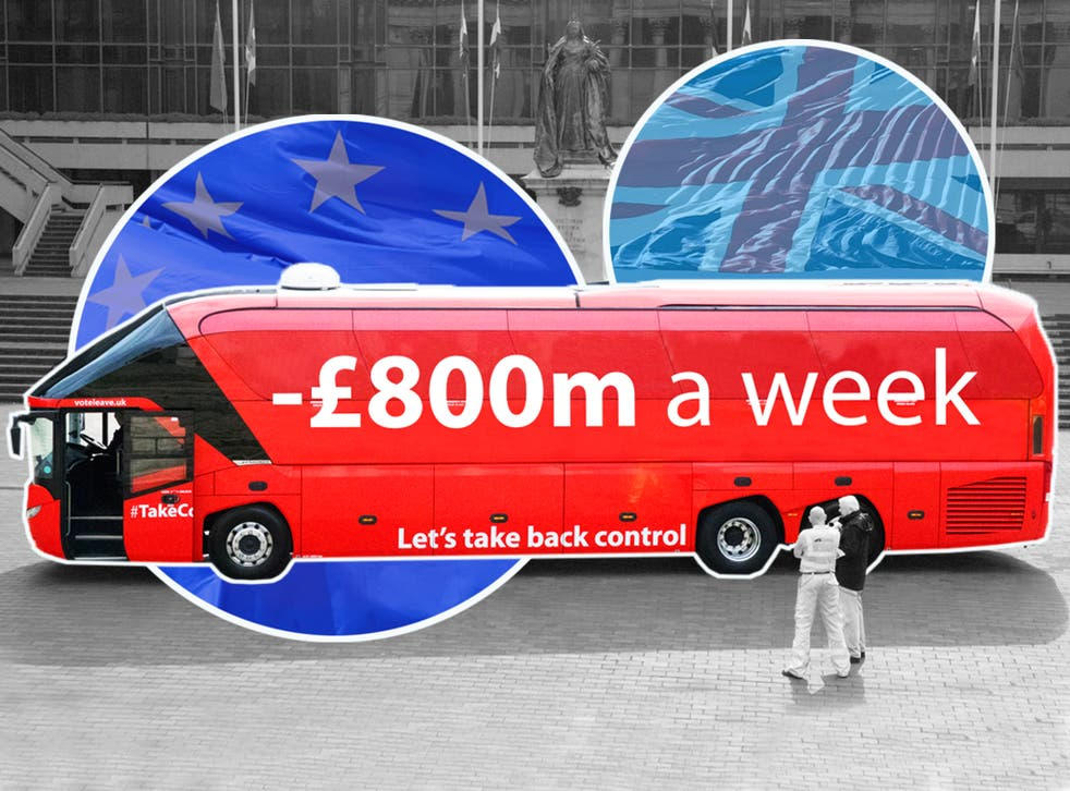 The real 'Brexit dividend'? Minus £800m a week – and counting