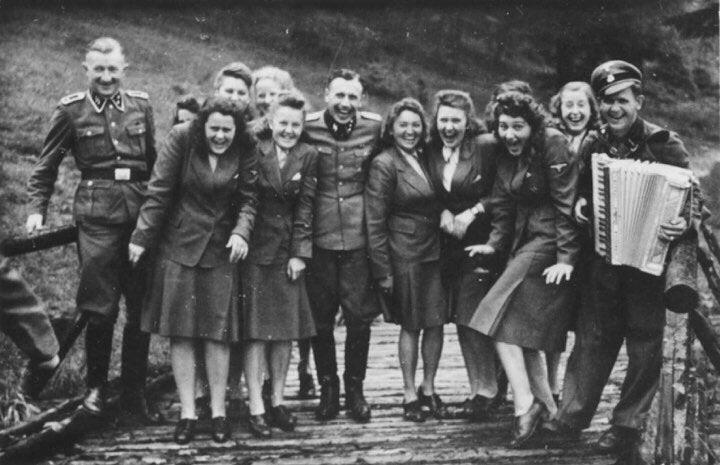 Auschwitz Death Camp guards on their day off