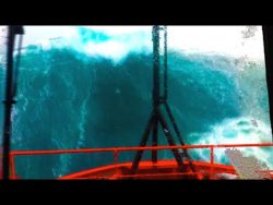 Ship in Storm | Multiple MONSTER WAVES Hit Recuse Vessel in the North Sea! [Watch Until End]  ...
