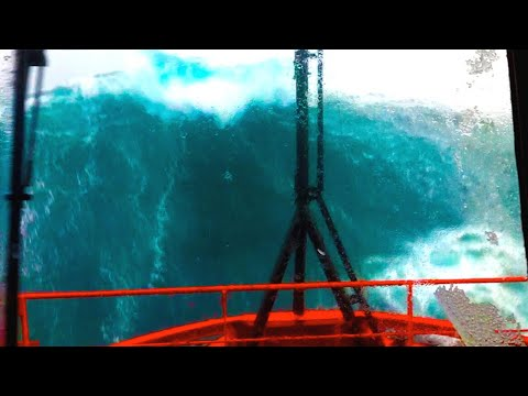 Ship in Storm | Multiple MONSTER WAVES Hit Recuse Vessel in the North Sea! [Watch Until End] – YouTube