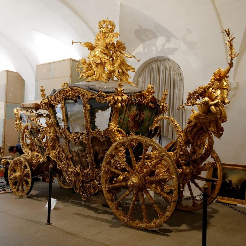 The Carriage of Louis II of Bavaria (Ludwig II)