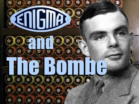 Alan Turing, Bletchley Park – Enigma and the Bombe – YouTube