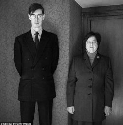 Here's Jacob Rees-Mogg with his lifelong nanny.    He lives in a castle, inherited a fortu ...