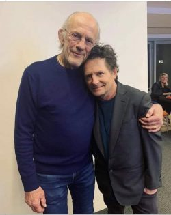 Marty and the Doc make it to 2021
