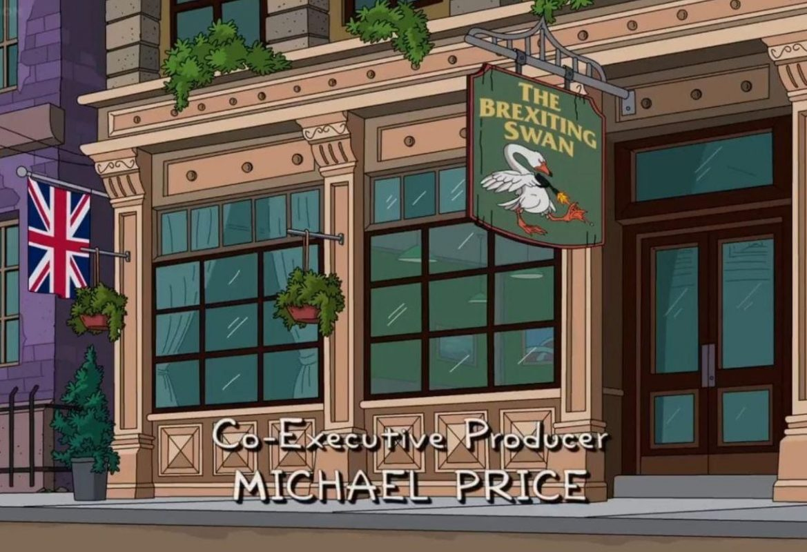 When even The Simpsons are trolling the UK