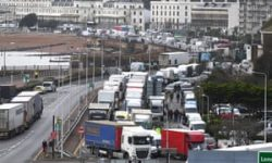 Emergency Brexit powers for lorry queues to be made permanent | Brexit | The Guardian