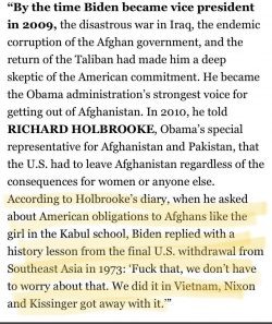 Biden, just another asshole.