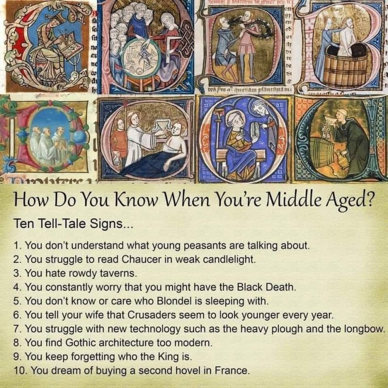 Are you feeling middle-aged?