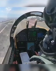 F18 takeoff from an aircraft carrier