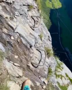 Insane Breathtaking Cliff Hiking in Interlaken, Switzerland.