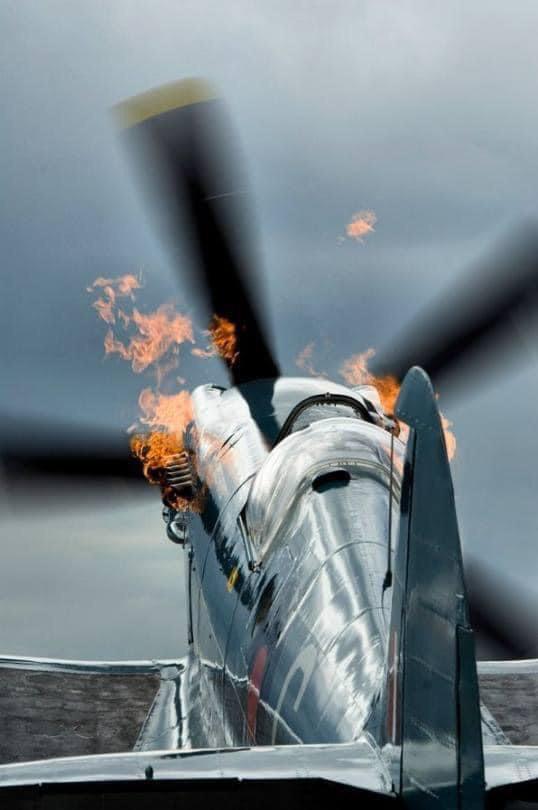 Spitfire, literally!