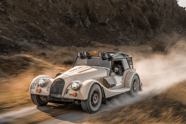Morgan Plus Four CX-T Rally Car