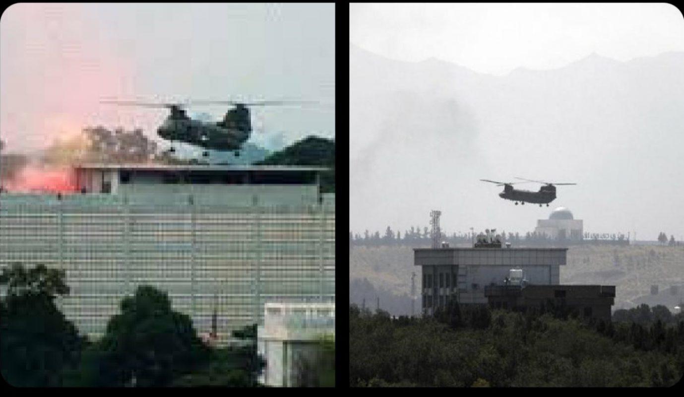History repeats itself, Evacuation of the US Embassy, Saigon 1975 – Kabul 2021.