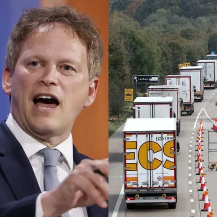 Shapps 'would rather have food shortages than EU drivers'