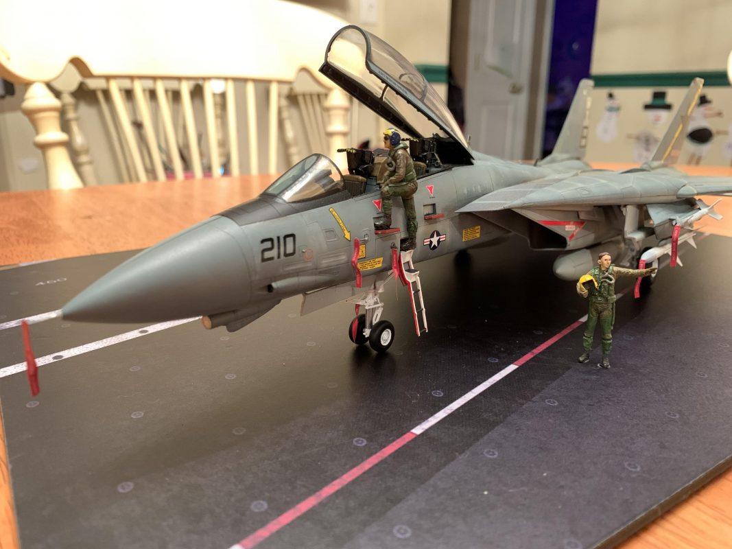 Amazing diorama F14