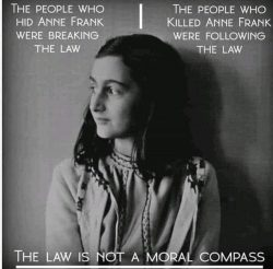 The law is not a moral compass