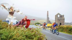 Tour of Britain in Cornwall