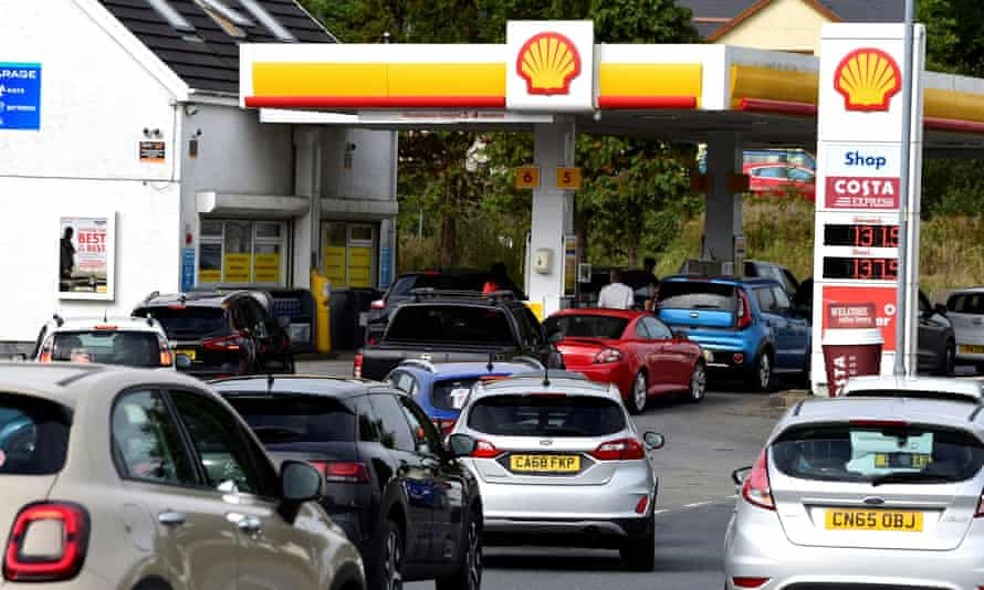The cause of our food and petrol shortages is Brexit – yet no one dares name it