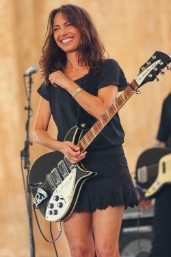 Susanna Hoff, lead singer and co-founder of The Bangles, age 62.