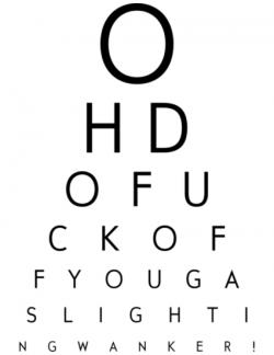 Tory eye test