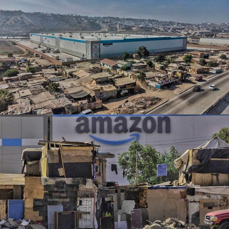 Amazons latest facility in Tijuana, Mexico